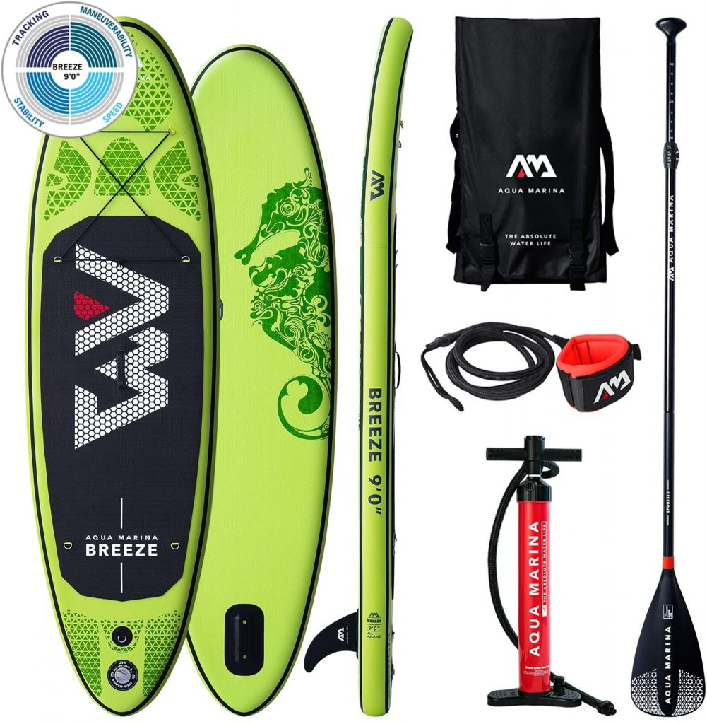 meilleur paddle Aquamarina Sup Breeze